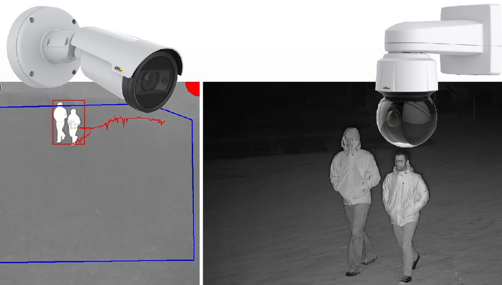 AXIS PTZ Autotracking